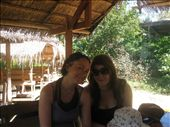 Lyb and I at the first lake side bar, just before we went tubing. :) : by mazystar, Views[260]
