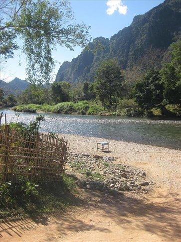 Nam Song River, Vang Vieng.