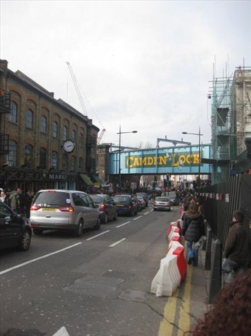 A boring photo I know, but it's Camden!