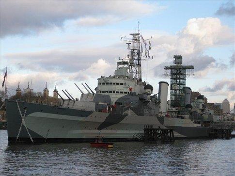 HMAS Belfast.
