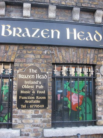 The oldest pub in Ireland. It dates back to 1198.