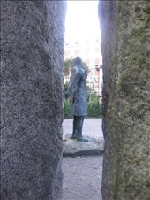 Bronze statue of Theobald Wolfe Tone, the leader of the 1798 rebellion.: by mazystar, Views[240]