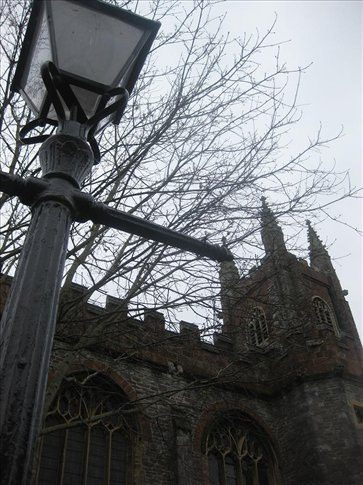 St Mary's Church, Totnes.