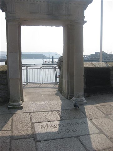 This is where the Mayflower set sail from on the 6th of Sept, 1620.