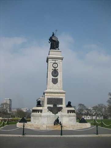 War Memorial on the Hoe in Plymouth.