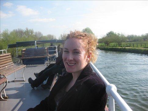 Georgia on the boat. :)
