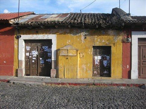 A standard building in Antigua.