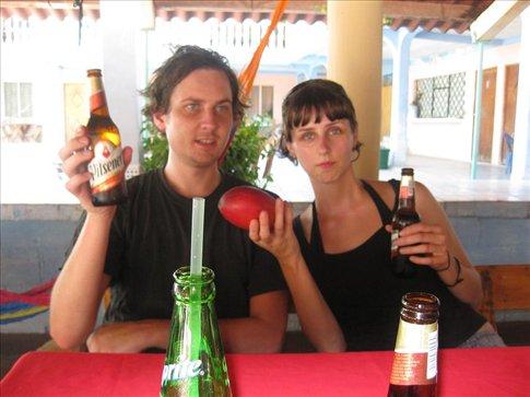 Beer and mangos.