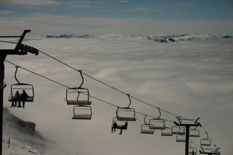 Above the cloud line