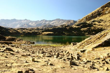 Laguna Chillata, our base camp