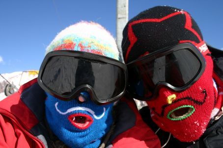 Ski masks, much needed
