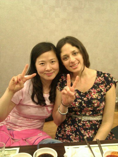 Eun Sun my 3rd and 4th grade co-teacher