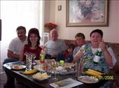 My relatives from the Czech Republic -Martin, Eva, Olda, Kacenka, Domonik and Jirina: by mel, Views[155]