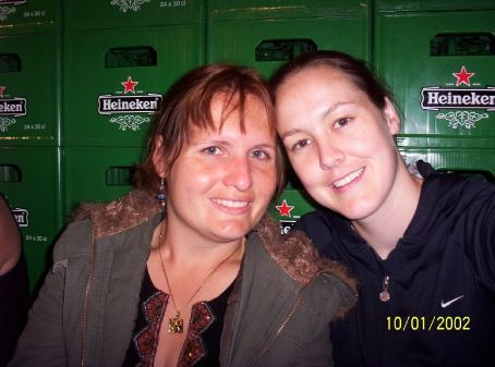 Jas and I in the Heineken Factory, Amsterdam