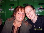 Jas and I in the Heineken Factory, Amsterdam: by mel, Views[200]