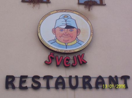 Svejk Restaurant, from the famous book