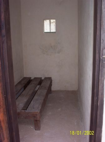 Terezin Memorial Camp - thirty people took turns sleeping on this one bed every night