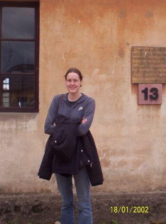 Jas at Terezin memorial camp