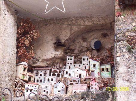 A village replica of Positano