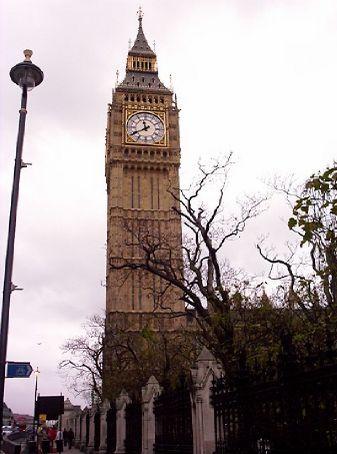 Big Ben! And it was big