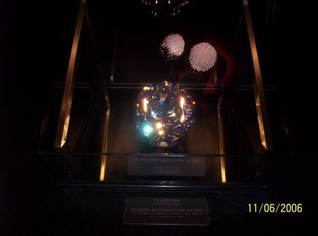 The biggest crystal in the world at Swarovski Crystal Palace