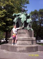 Me and Goethe in Vienna: by mel, Views[225]