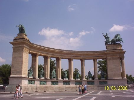 Heroe's Square, Budapest