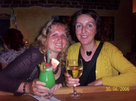 Me and Mel in Cesky
