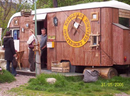 Guy that has moved himself and his trailer to study the Loch Ness monster, though he hasnt seen her in 13 years since he arrived!