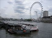London Eye across the River Thames: by melissa, Views[208]