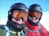 Melissa and Aidan, kitted up in full ski gear.  : by melissa, Views[263]