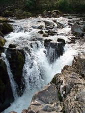 Waterfall number three, in Bets-y-Coed.  : by melissa, Views[186]