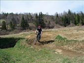 Aidan riding the pump track in East Burke.: by melissa, Views[172]