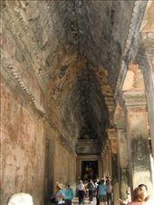 Angkor Wat--interior hall: by melissa_k, Views[369]