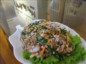 My chicken and banana flower salad: by melissa_k, Views[233]
