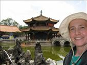 Self portrait in front of Yuantong Temple: by melissa_k, Views[185]