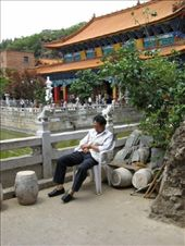 An afternoon siesta at the temple: by melissa_k, Views[138]