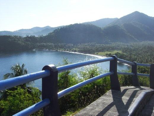 About 30 minutes north of Senggigi