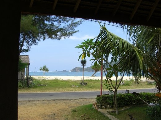 View from Seger Reef Homestay