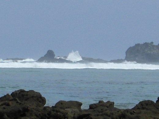 Waves - Kuta's reef