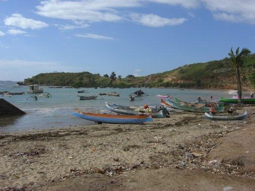 The beach at Awang