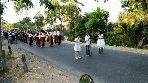 Procession, saint's day, Boawe