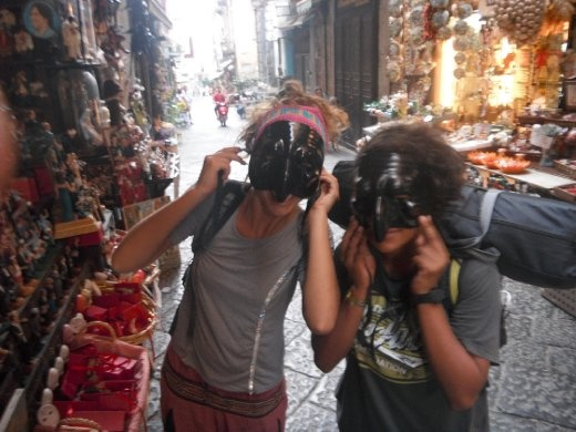 Just fooling around in Napoli