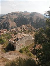 Abandoned village near Buccino and a great view. We were staying with Jess' cousin  and family.: by mettesv, Views[395]