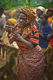 The unequivocal leader of the dance though over eighty-years-old, her passion for her people is clear with every clap.: by michaelcook, Views[541]