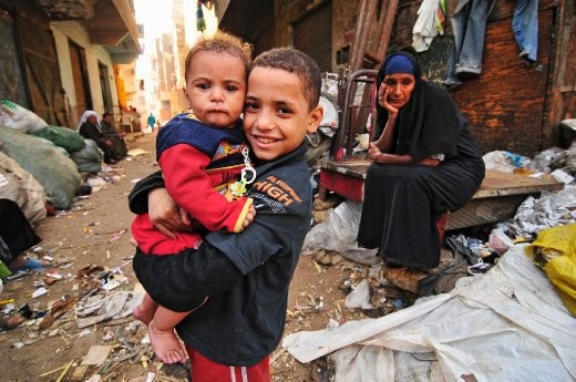 One of the local kids in Cairo whose smile instantaneously breaks your heart but at the same time fills you with so much hope because of their choice to enjoy life despite the circumstances.