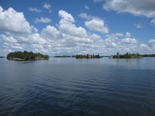 1000 Islands boat trip.