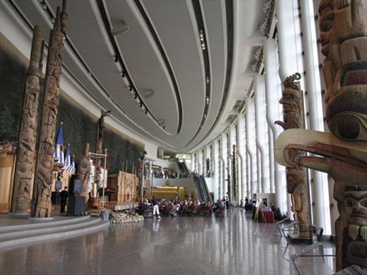 Ottawa Museum of Civilization. Grand hall.