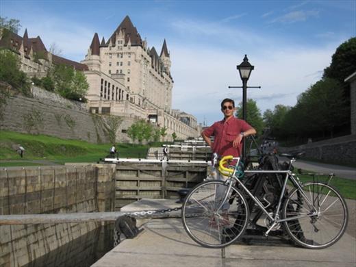 Rideau canal, Ottawa.