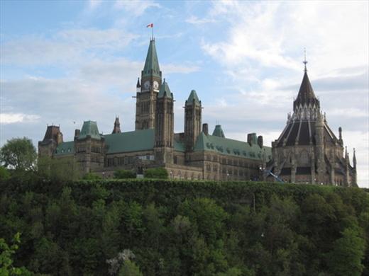 Parliament building, Ottawa.